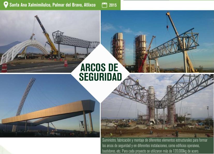 CONSTRUCCIONES METÁLICAS PUEBLA