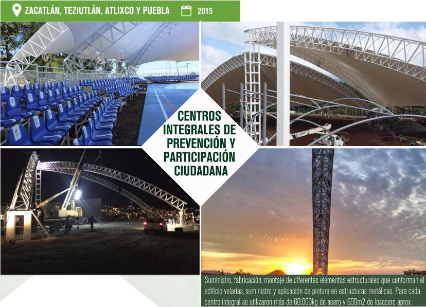 ESTRUCTURAS METÁLICAS EN PUEBLA