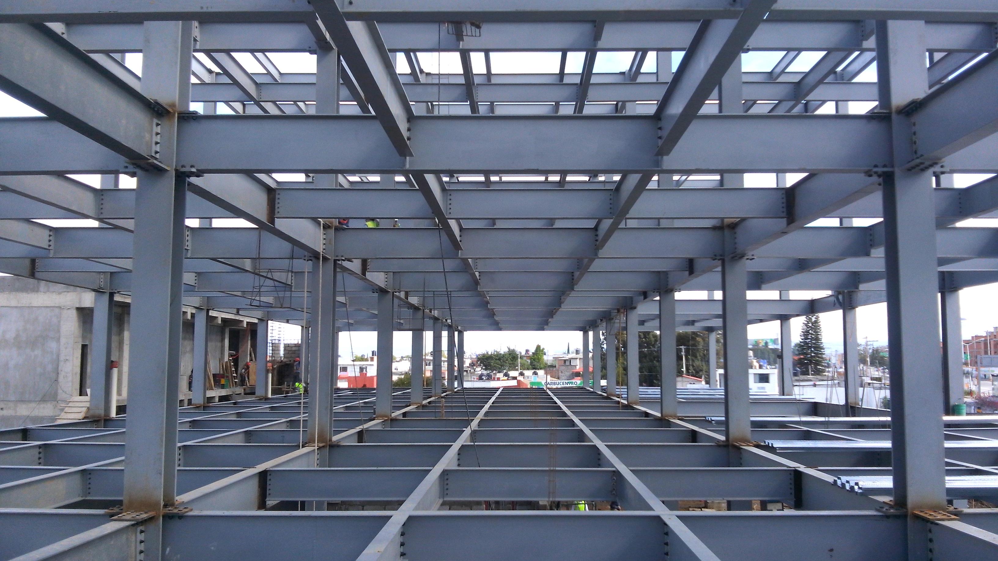 Diseño, suministro, fabricación y montaje de estructura metálica